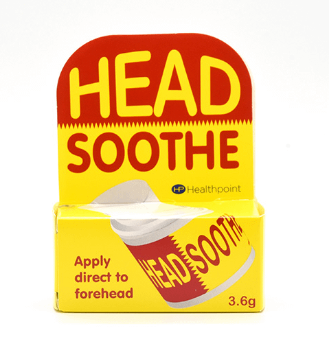 Headsoothe 3.6g relief for headaches Description Specially designed to apply direct to forehead. Use as required. Relief forheadaches